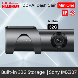 DDPai Dash Cam Mini One Night Vision 1080P Full HD DVR Car Camera Android Wifi Auto Drive Vehicle Video Recroder Build-in 32GB(China)