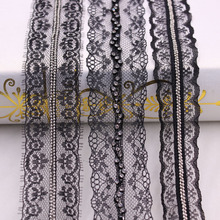 1Yards/Lot Pearl Beaded Lace Ribbon Trim African Fabric Fringe Embroidered Clothing Accessories Wedding Dress