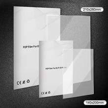New 3/5 PCS Transparent FEP Release Film Ultra-Transparent Printer Release Film for 3D Printers Thickness 0.1mm Insulation