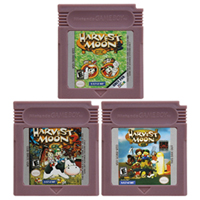 Video Game Cartridge Console Card 16 Bits Harvest Moon Series For Nintendo GBC English Version image