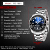 PAGANI DESIGN Sapphire Glass 100m Waterproof 40MM Classic Luxury Watch Automatic Japan NH35A Movement Mechanical Watches Accessories Jewellery & Watches