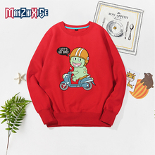 2019 New Arrival Autumn Winter 2-10 Years Old Children Long Sleeve Cartoon Anime Print Motorcycle Kids Handsome Boy Sweatshirt