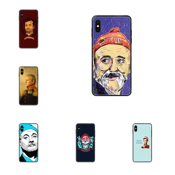 Famous Actor Bill Murray Black Soft Multi Colors For Xiaomi Mi Max Mix 2 3 2S 5X 6X CC9 CC9E Pro Note 10 Lite Pro Ultra Jeunes image
