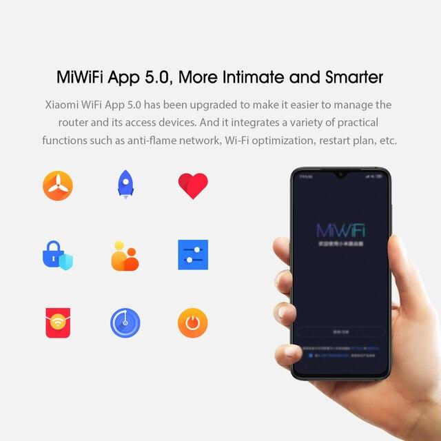 Xiaomi-routeur AIoT Wi-Fi 6 2.4/5GHz, 2976 mb/s 6 antennes, répéteur trois Gigabit MAX, Version chinoise