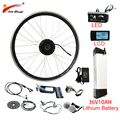 EU RU Duty Freies Keine Steuer 36V 250 W-500 W Elektrische Bike Kit Hub Rad Motor 36V10AH batterie Ebike e bike Elektrische Bike Conversion Kit