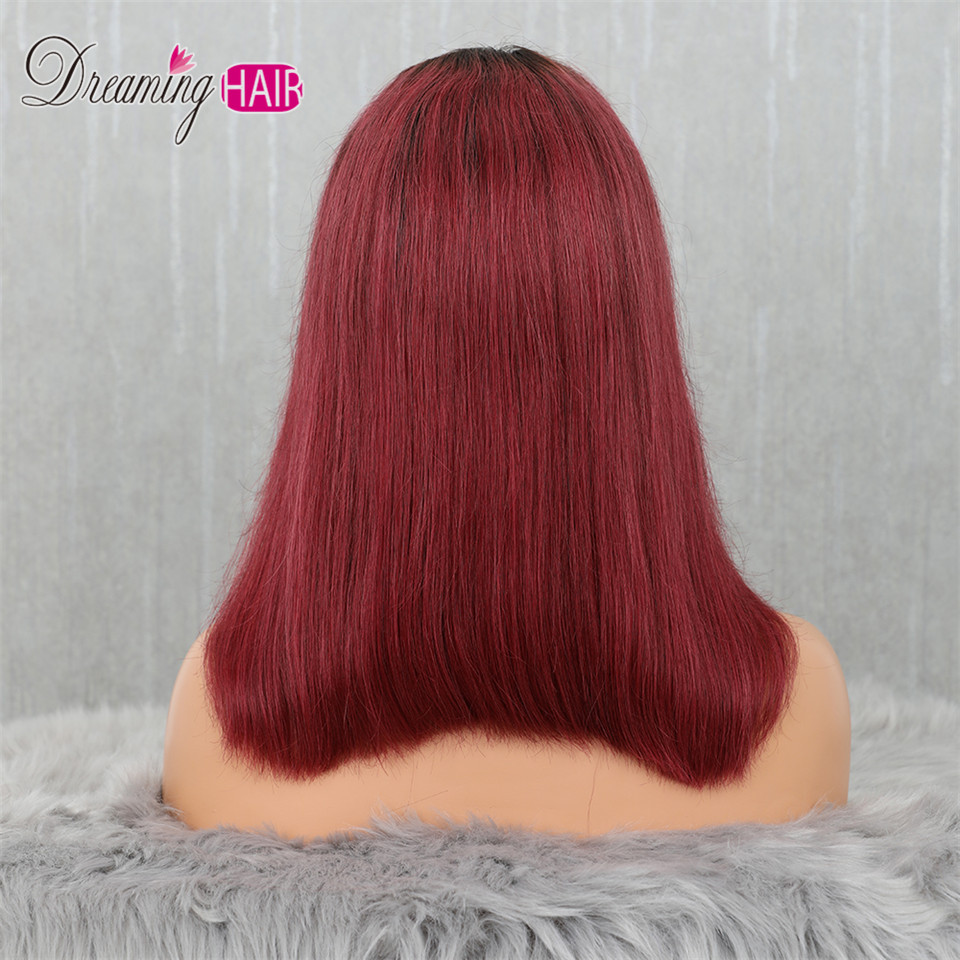 Hf544e5c2f2044984a39d4c80f768f96fD 613 Short Cut 13X4 Bob Lace Front Human Hair Wig with Bangs Honey Blonde Color Transparent Lace Front Wigs For White Woman