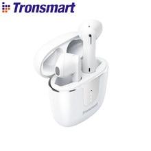 Tronsmart Onyx Ace TWS Bluetooth 5,0 Kopfhörer Qualcomm aptX Drahtlose Ohrhörer Geräuschunterdrückung mit 4 Mikrofone, 24H Spielzeit
