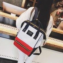 Новый тренд, женский рюкзак, модный холщовый женский рюкзак, Одноцветный школьный рюкзак для девочек подростков, Женский школьный рюкзак