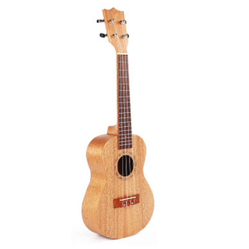 Wooden 23-Inch Veneer Ukraini Beginner Guitar Playing Instrument