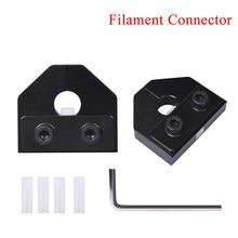 Filamento material do abs do pla do sensor 1.75/3.0mm do filamento das peças da impressora 3d do conector do soldador do filamento para o ender 3 pro skr v1.3