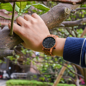 Image 4 - DODO DEER Men Wood Watch Stylish Simplicity Calendar Quartz Sport Male Relogios Masculino Wristwatches Men Shock Gift for Him