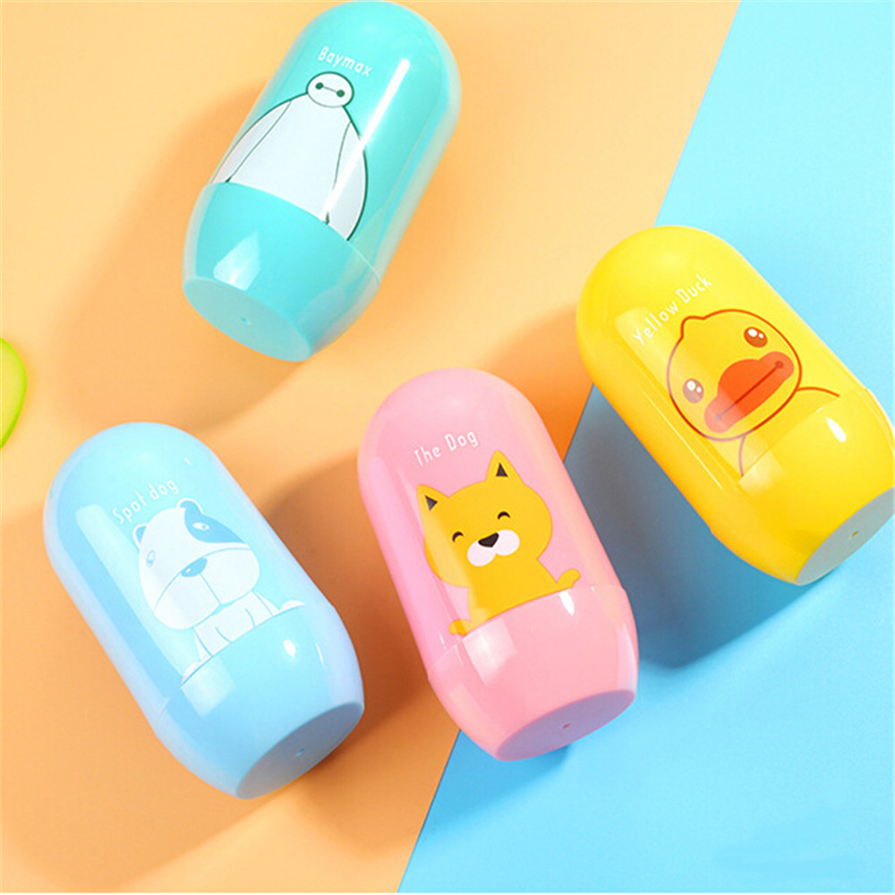 2019 4PCS Cute Portable Newborn Baby Kids Solid Nail Clipper Nail FileSet Health Care Accessories