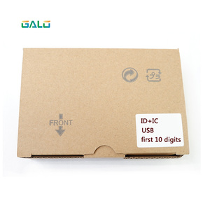 125KHz & 13.56MHz Black USB Proximity Sensor Smart rfid NFC Card Reader to prevent the take wrong