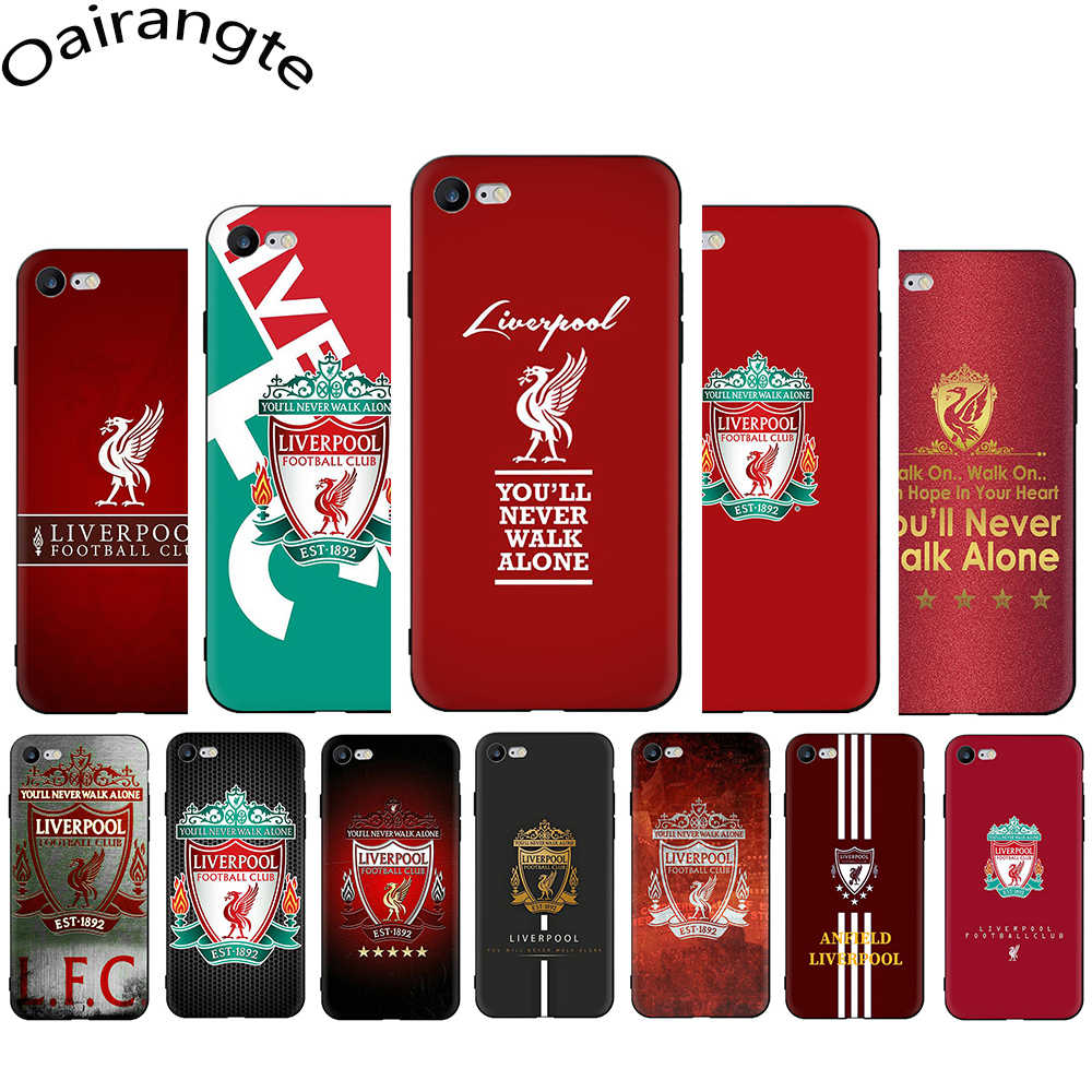 Liverpool Club Soft Phone Cover Case for iphone 5 5S 6 6S Plus 7 8 Plus X XR XS 11 Pro Max