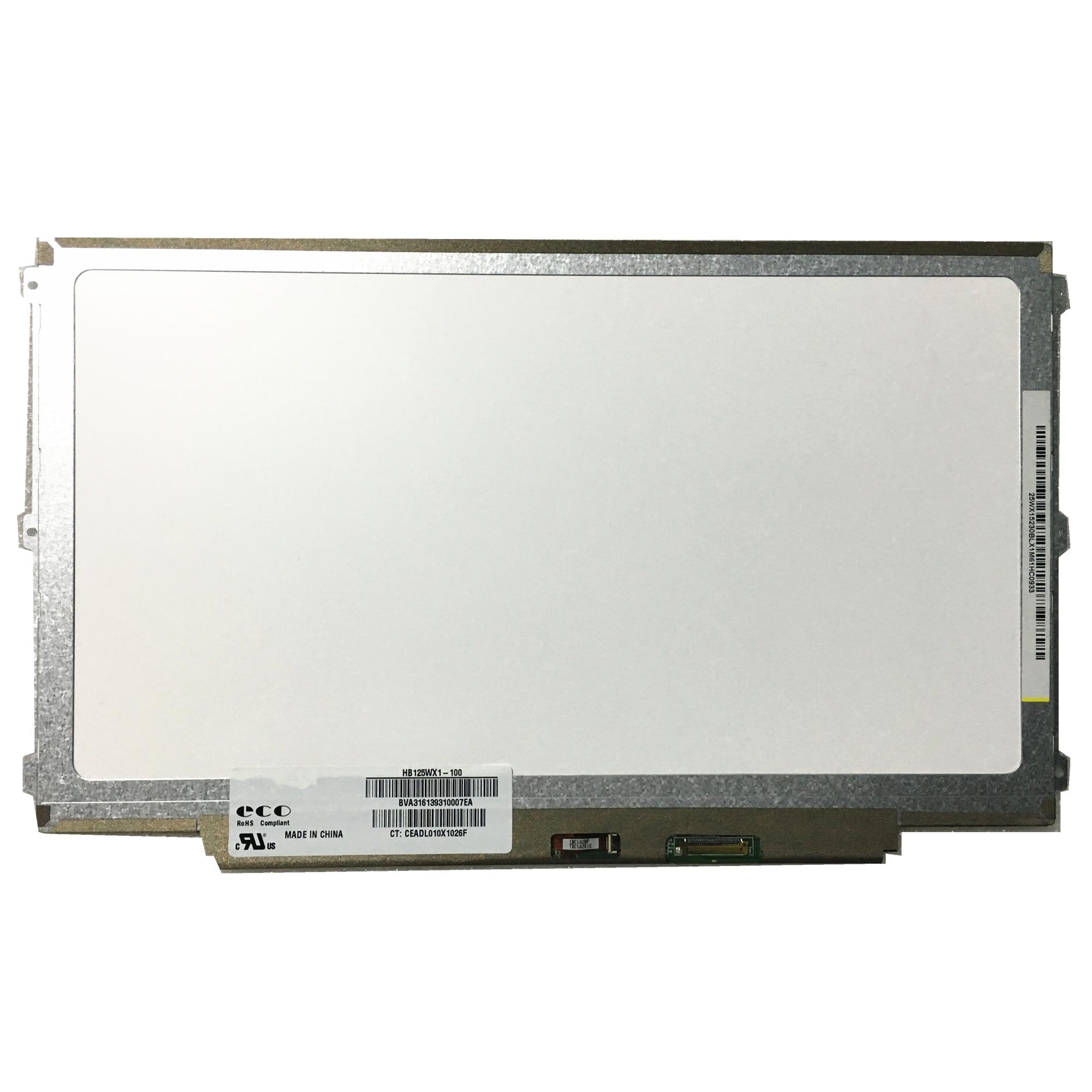 Lp125wh2-tpb1 para Dell g2 Tela Lcd 1366*768 Edp 30 Pinos Hb125wx1-100 Hb125wx1-201 E7240 hp 820