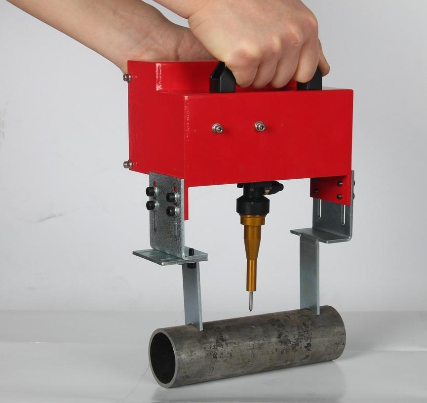 Портативная металлическая пневматическая ударно-точечная маркировка машины для код VIN (100*20 мм) рамка маркировочная машина номер шасси 220