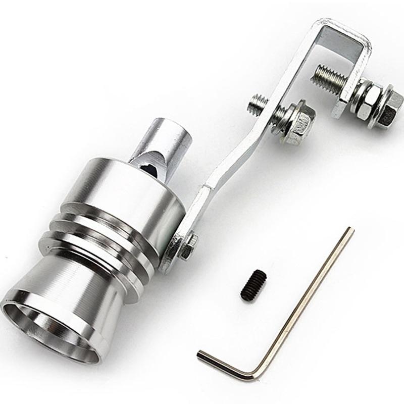 Универсальный автомобильный Размеры S 18 мм турбо звук свистки глушитель выхлопной трубы авто Продувочный Клапан-симулятор для всех автомоб...