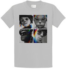 лучшая цена Custom T Shirt Printing O-Neck Men Short Sleeve Fashion 2018 Gorillaz 'Glitch Humanz Tees