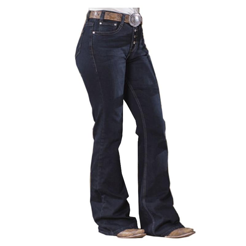 Jeans Woman High Waist Boyfriend Wide Leg Cargo Pants Female Straight Loose Dark Blue Pants 2020 New Fashion Baggy Casual Jean