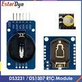 DS3231 AT24C32 IIC Module DS1307 Precision Clock Module DS1307 Memory module mini module Real Time 3.3V/5V For Raspberry Pi