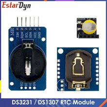 DS3231 AT24C32 IIC Module DS1307 Precision Clock Module DS1307 Memory module mini module Real Time 3.3V/5V For Raspberry Pi