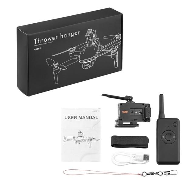Evrensel uzaktan kumanda dağıtıcı atıcı DJI Mavic 2/Pro/hava 2/hava FIMI X8SE Phantom 3 4 Drone Quadcopter aksesuarları