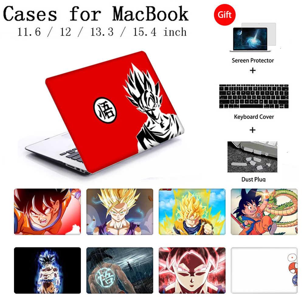 Nouveau étui pour MacBook Retina Pro 13.3 15.4 housse d'ordinateur portable housse pour ordinateur portable pour Apple MacBook Air 11 12 15 pouces Torba clavier couverture