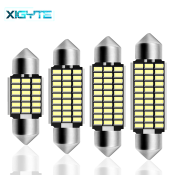 Girlande 31mm 36mm 39mm 42mm Led-lampe C5W C10W Super Helle 4014 SMD Canbus Fehler Freies auto Innen Doom Lampe Auto Styling Licht image