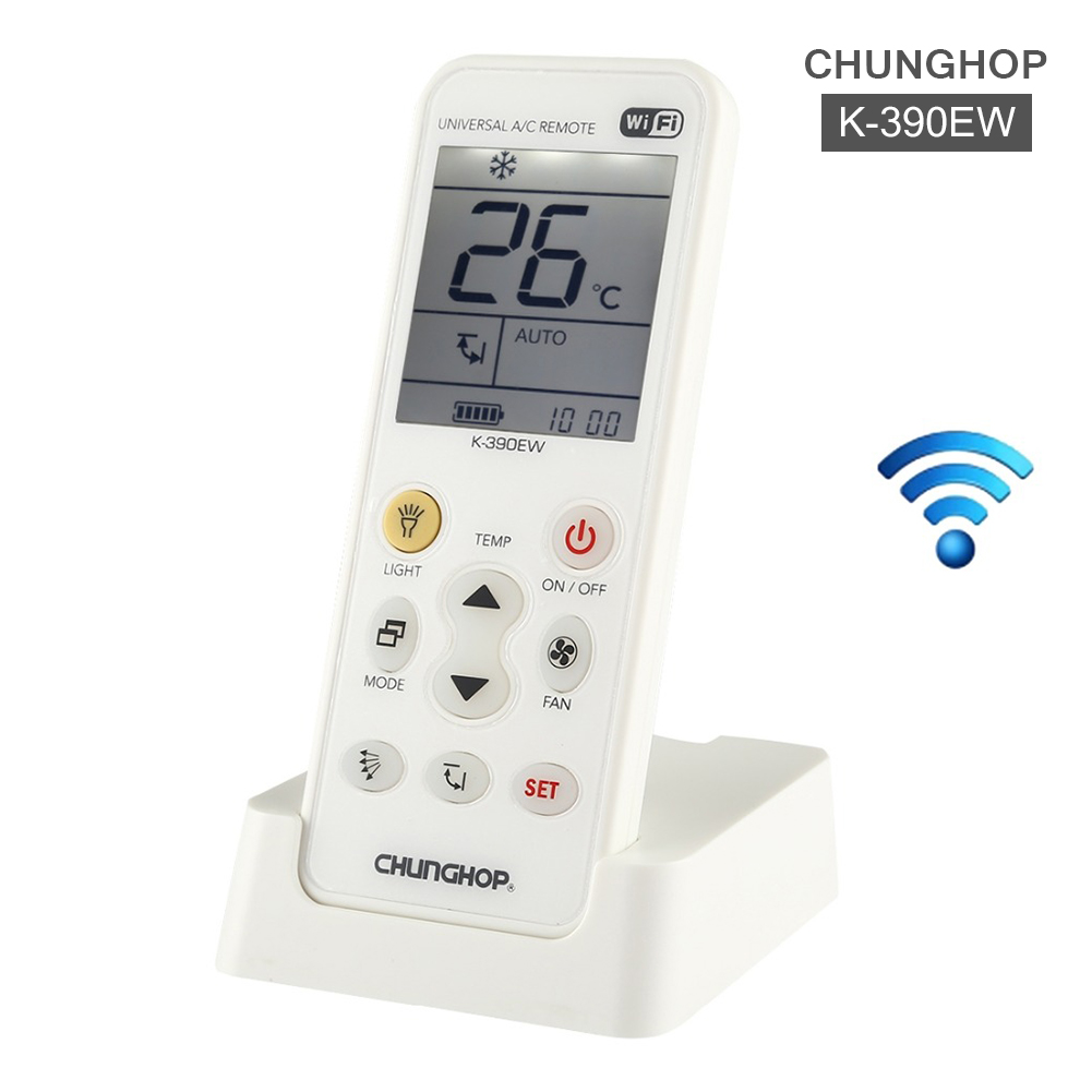 K 390EW WiFi Smart Universal Air Conditioning Remote Control 2G 3G 4G Network Remote Controls     - title=