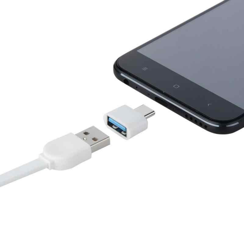 Type C Otg Usb 3.1 Naar USB2.0 Adapter Connector Hoge Speed Gecertificeerd Mobiele Telefoon Accessoires Voor Samsung Huawei Telefoon TXTB1