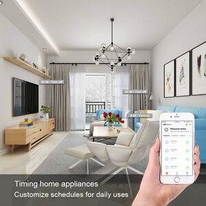 Image 5 - WiFi מתג שקע תקע בריטניה אלחוטי Extender מרחוק לשקע מתאם אנרגיה מטר חכם בית אוטומציה Alexa Google תואם