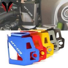 For Yamaha mt03 MT 03 MT25 MT 25 mt 25 2015 2021 Motorcycle CNC Rear Brake Fluid Reservoir Guard Protector Oil Tank Cover 2020