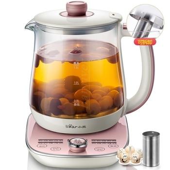 Health Pot Fully Automatic Thicker Glass Multifunction Tea Maker Flower Pots Milk Pot Temperature Display