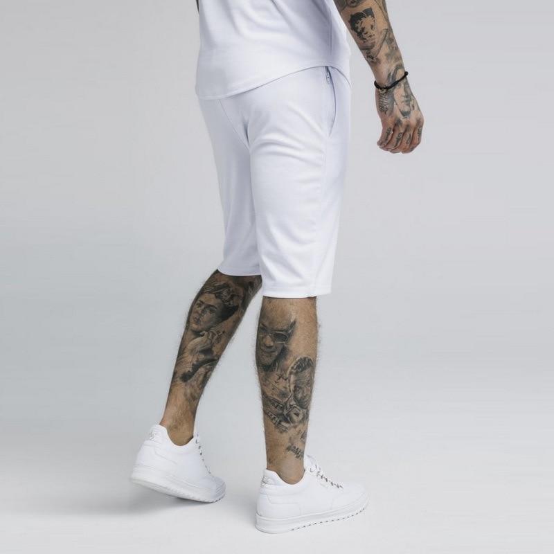 Shorts de verão masculino, seda sikseda, casuais,