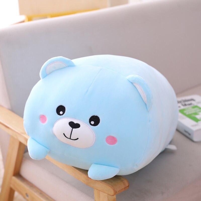 90cm Panda peluche Animal dinosaure & cochon & chat & ours Kawaii peluche jouet doux dessin animé Hamster & éléphant & cerf peluche poupée bébé oreiller cadeau - 5
