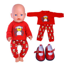 цена на Girl Doll Clothes, 6 Animal Pattern Styles, For 18 Inch American Girl Dolls And 43 cm Reborn Baby Dolls, Best Gifts For a Genera