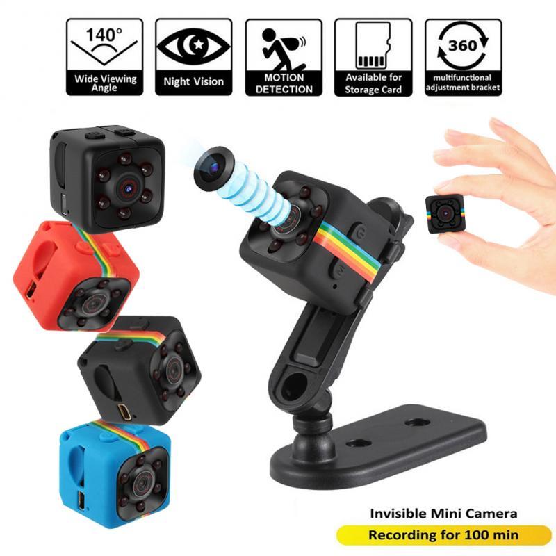 SQ11 Mini Camera Small Cam 720P Night Vision Sensor Camcorder Micro Video Camera DVR DV Motion Recorder Camcorder 3 Color Camera(China)