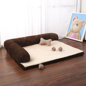 Cushion-Mat Sofa Chaise Lounge Pet-Beds Dogs Large Luxury Cat for Big L-Shaped
