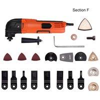 260 w multi-função cortador elétrico trimmer carpintaria ferramentas de oscilação serra elétrica ferramenta renovador multimaster