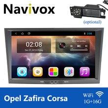 Navivox Android 10 2 Din GPS Do Carro para Opel Vauxhall Astra H G J Vectra Antara Zafira Corsa Meriva Vivaro Rádio NÃO Veda DVD Player