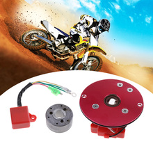 Motorcycle Magneto Stator Rotor CDI Racing Magneto Inner Rotor Stator CDI Kit For 110/125/140cc Lifan YX Pit Dirt Bike 2019 NEW high performance magneto stator rotor flywheel kit for motorcycle lifan 110cc 125cc 140cc 150cc ssr sdg pitbike