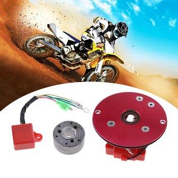 Motorcycle Magneto Stator Rotor CDI Racing Magneto Inner Rotor Stator CDI Kit For 110/125/140cc Lifan YX Pit Dirt Bike 2019 NEW