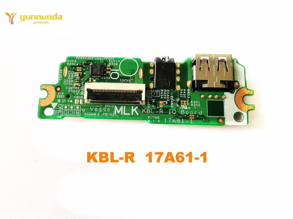 Original For DELL 17A61-1 USB Board  Audio Board KBL-R  17A61-1   Tested Good Free Shipping