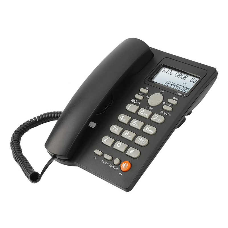 Free Ship¢Corded Telephone Ffyy-Desktop Caller-Id-Display Hotel/office with for Adjustable VolumeÛ