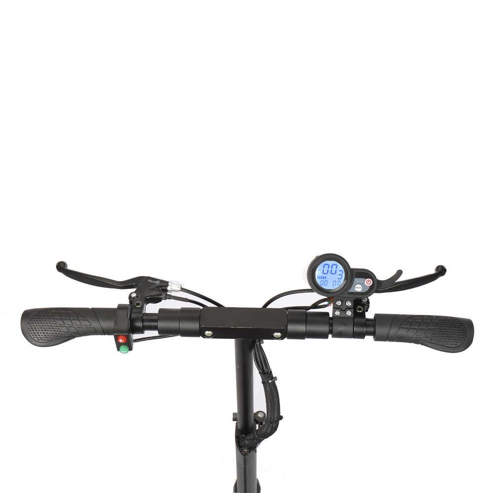 A lunga distanza migliore modello di 10 pollici fat tire A Buon Mercato Pieghevole 48V 500W Monopattino a due ruote 10 pollici elettrico scooter trasporto veloce
