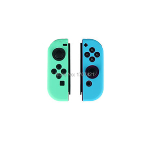 Image 5 - Silicone Rubber Skin Case Cover For Nintend Switch JoyCon Controller For Nintendoswitch NX NS Joycon Grip
