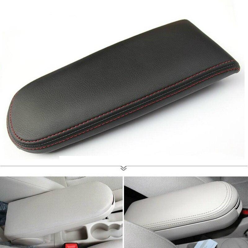 1 шт. DIY новый из искусственной кожи автомобильный Стайлинг модификация центр подлокотник коробка для хранения чехол наклейка для Volkswagen POLO