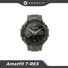 Original Amazfit T-rex Smartwatch 5ATM Wärme Kälte Beständig MIL-STD Smart Uhr GPS/GLONASS AMOLED Bildschirm für iOS android telefon