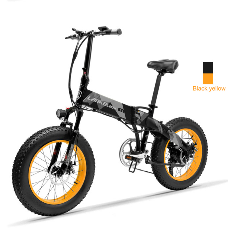 Daibot Electric Scooter Adults Two Wheels Electric Bicycle 20 Inch Big Tire 500W Electric E Bike Scooter With Double Brake (16)