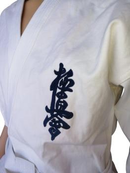 Ropa de Karate para niños y adultos, algodón transpirable, dobok, kyokushin, kárate, Kyokushinkai, uniformes, kárate, GI, 12oz